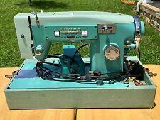 Vintage WHITE ZigZag Sewing Machine 1563 Zig Zag Stitcher