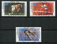 Bund 1353 - 1355 gestempelt Vollstempel ETST Frankfurt used