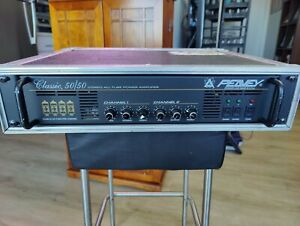 Rare - Peavey Classic Series 50/50 Stereo Tube Power Amplifier 2 Channel