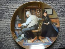 "norman rockwell ""keeping Company""Plate"