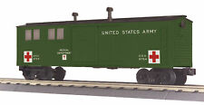 MTH RailKing 30-79636 US Army Medical Dept Engineering Car O Gauge Trains