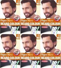 Sei Confezione da Bigen da Uomo Barba Colore B103 Marrone Scuro