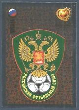 PANINI EURO 2004- #051-RUSSIA-ROSSIJA TEAM BADGE-SILVER FOIL