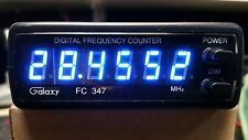 Galaxy CB, HAM 10 METER Radio 6 digit frequency counter (BLUE)