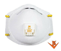 3M 8511 N95 Dust Particulate Respiratory Protection Half Face Mask ~ 1 box