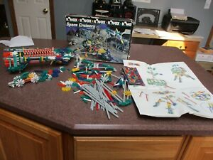 K'NEX SPACE CRUISERS BUILDS 5 MODELS REPLACEMENT PIECES