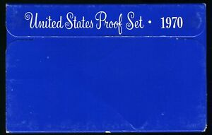 1970-S United States Proof Coin Set with Box  CP446