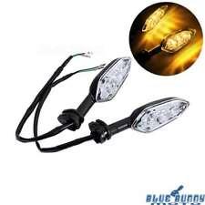 2x Black Turn Signals Light Blinker Indicator Lamp For Yamaha YZF-R125 XSR 900