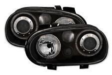 FAROS LUCES ANTES ANGEL EYES NEGRO LED VW VOLKSWAGEN GOLF 4 V6 R32 1.6 16S