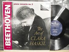 THE ART OF CLARA HASKIL BEETHOVEN PIANO CONCERTO No.3 WESTMINSTER XWN18379 1957