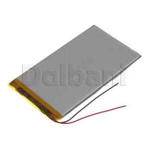 New 3.7V 3500mAh Internal Li-ion Polymer Built-in Battery 121x69x4mm 29-16-0942