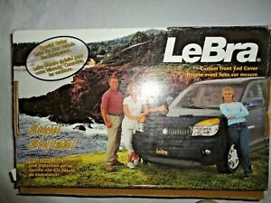 GLOBAL ACURA LEGEND 4 DOOR 1986-1989 BLACK LeBRA CUSTOM FRONT END COVER 55200-01