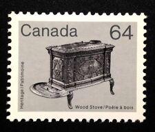 Canada #932 LF AP MNH, Wood Stove Artifact Definitive Stamp 1983