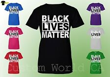New Design Women Shirts - BLACK LIVES MATTER - Civil Rights Tee Clothes Equality