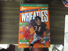 Wheaties Walter Payton Cereal Box - Leroy Nieman Print Legends Of The Nfl