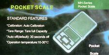 Mini Bilancia digitale LDC precisione professionale tascabile bilancino oro pile
