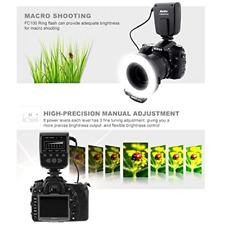 Macro Ring LED Flash Light for Canon Eos Digital DSLR Cameras t5i T6S t7i t6i 58