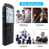 32G Voice Mini Spy Digital Sound Audio Recorder Dictaphone Activated MP3 Player