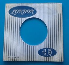 Ten Replicas Of Original Used London Label Company Record Sleeve, Pack Of 10