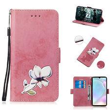 Cuero Billetera Portatarjetas Estuche Cubierta Para Huawei Honor 10 9 8X 8C 7S P30 P20 P10