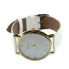 Colorful Faux Leather Strap Cute Analog Quartz Dress Wrist Watch Ladies Bracelet