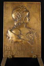Medaille sc Vernier République française Marianne par Albert Dubosc Député medal