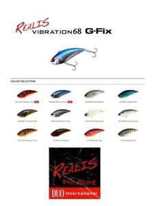 Duo Realis Vibration 68 G-Fix - 3/4 oz Lipless Crankbait - Choose Color