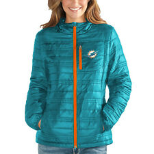 G-III 4her Miami Dolphins Women's Formation Full Zip Jacket - Aqua