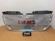 GMC GM OEM 22761715 2007-2014 GMC YUKON FRONT UPPER CHROME GRILL W/ GMC LOGO