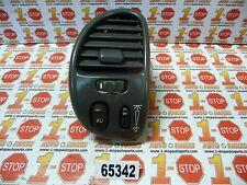 99 - 04 OLDSMOBILE ALERO DRIVER/LEFT DASH AC VENT W/ FOG & DIMMER SWITCH OEM