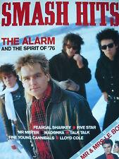 SMASH HITS 29/1/86 - THE ALARM - DURAN DURAN - MADONNA - 5 STAR