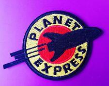 FUTURAMA 💫 PLANET EXPRESS Patch Badge Costume Sci Fi TV Cartoon Character.
