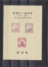 TIMBRE STAMP  BLOC JAPON Y&T# SOUVENIR OISEAU BIRD NEUF**/MNH-MINT 1961  ~R22
