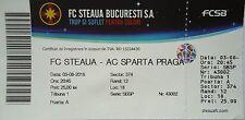 TICKET UEFA CL 2016/17 Steaua Bukarest - Sparta Prag