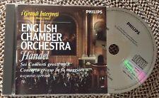 ENGLISH CHAMBER ORCHESTRA / HANDEL - CD (I grandi interpreti n.45 - De Agostini)