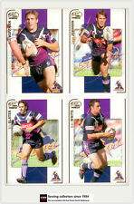 2005 Select NRL Power Series Trading Cards Base Team Set Storms(12)**