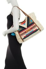 Steven By Steve Madden Women's Geometric Pattern Multicolor Bali Tote Bag $128