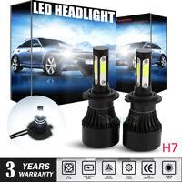 2Pcs For Audi A4 (B7, B8) 2005-2012 High Main Beam H7 Xenon LED Headlight Bulbs