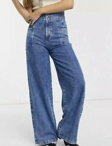 Free People Midnight City Wide-Leg Jeans Size 25 BNWTS $108.00
