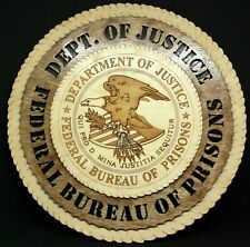 FEDERAL BUREAU OF PRISONS (DOJ) PLAQUE
