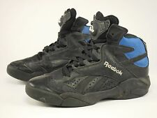 1992 SHAQ ATTAQ Vintage Reebok THE PUMP Black Basketball Shoe 45 - US 11