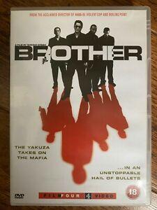 Brother DVD 2000 US America Based Japanese Crime Thriller w/ Beat Takeshi Kitano