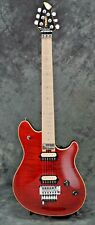 1999 PEAVEY WOLFGANG STANDARD, ARCH RED FLAME MAPLE, USA, $1.00 NO RESERVE!