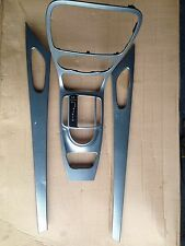 Mercedes SL R230 SL 350 SL500 Dashboard trims in silver set of 4 parts