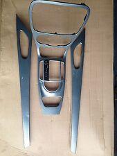 Mercedes SL R230 SL 350 SL500 Dashboard trims in silver set of 4 parts