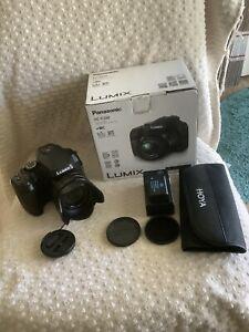 Panasonic Lumix FZ80 18.1MP Digital Camera - Black + 2 batteries. In Box