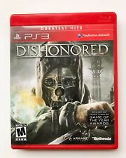 """""""DISHONORED"""" PS3 PlayStation Video Game w/ Manual EC"""