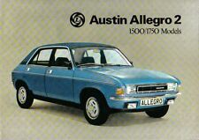 Austin Allegro 2 1500 & 1750 Saloon 1975-77 Original Sales Brochure No. 3162/A