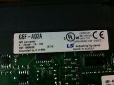 ls is LSIS (LG industrial systems) plc A/D analog module G6F-AD2A ( G6FAD2A )
