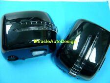 G63 LOOK ARROW LED DOOR MIRROR BLACK COVERS FOR 1990-2002 MERCEDES W463 G-CLASS